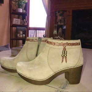 Dansko Dabney Boots with Tassel